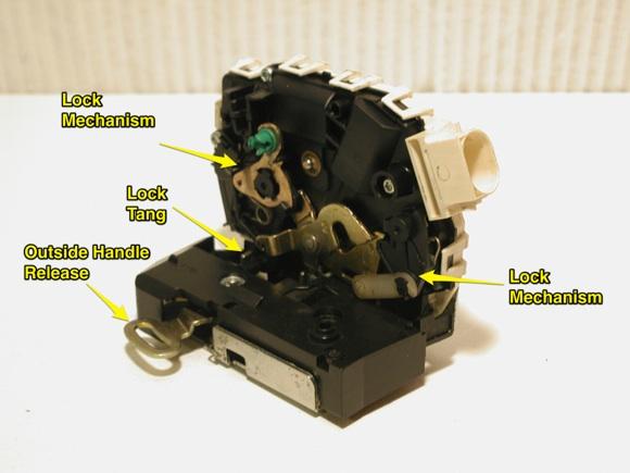 2003 mini cooper door lock wiring diagram how to remove a frozen, locked door actuator: a solution ... #2